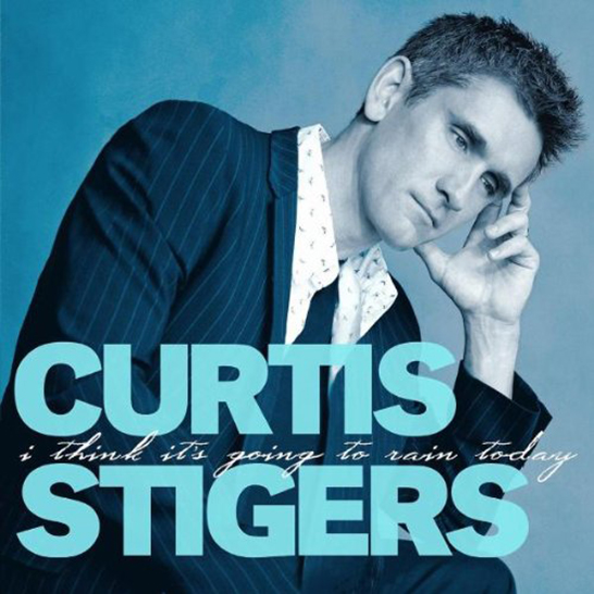 I Think It's Going To Rain Today - Album Cover - Curtis Stigers