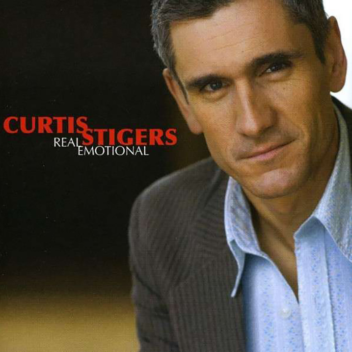 Real Emotional - Album Cover - Curtis Stigers