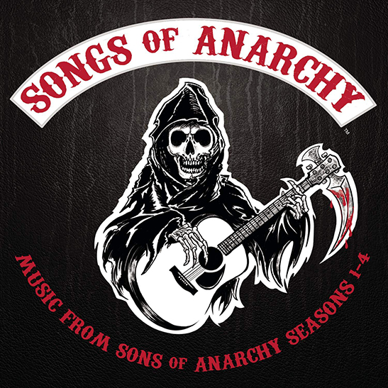 Songs of Anarchy Seasons 1-4 - Album Cover - Featuring Curtis Stigers