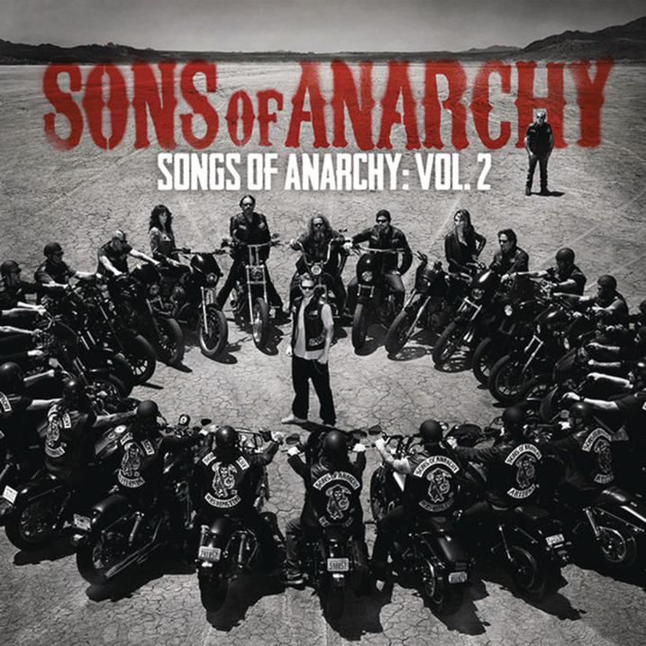 Songs of Anarchy Vol. 2 - Album Cover - Featuring Curtis Stigers