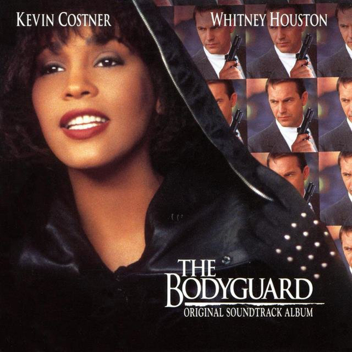 The Bodyguard Original Soundtrack - Album Cover - Featuring Curtis Stigers