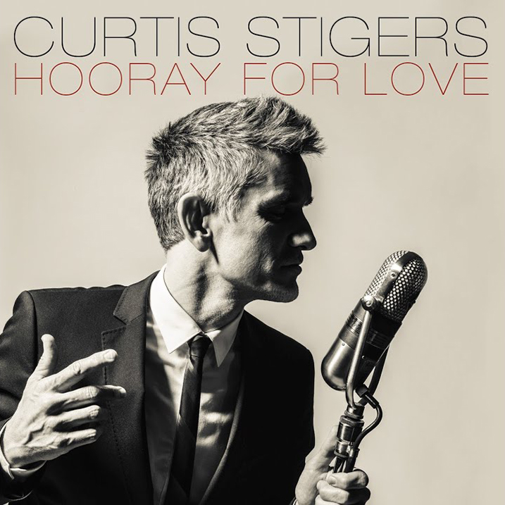 Hooray For Love - Album Cover - Curtis Stigers